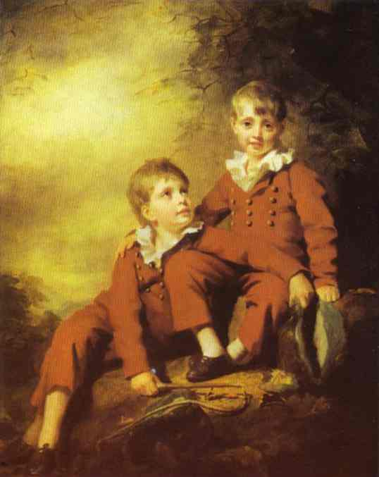 Portrait Of The Binning Children 1811 | Sir Henry Raeburn | Oil Painting