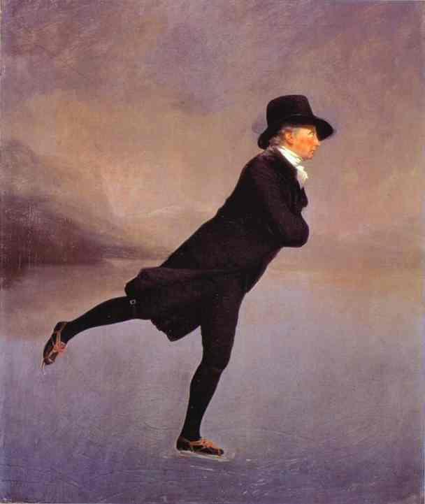 Portrait Of The Reverend Robert Walker Skating 1784 | Sir Henry Raeburn | Oil Painting