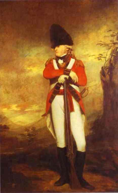 Prtrait Of Captain Hay Of Spott | Sir Henry Raeburn | Oil Painting