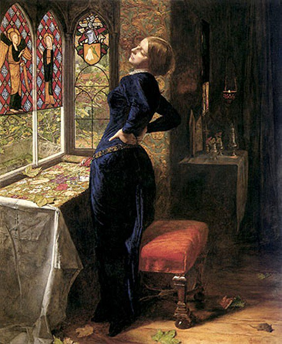 Mariana 1851 | Sir John Everett Millais | Oil Painting