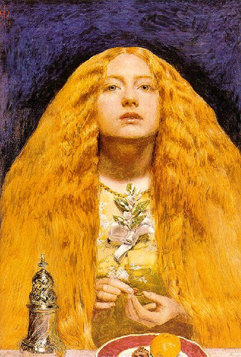 The Bridesmaid 1851 | Sir John Everett Millais | Oil Painting