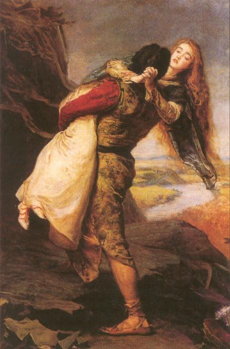 The Crown Of Love  1875 | Sir John Everett Millais | Oil Painting