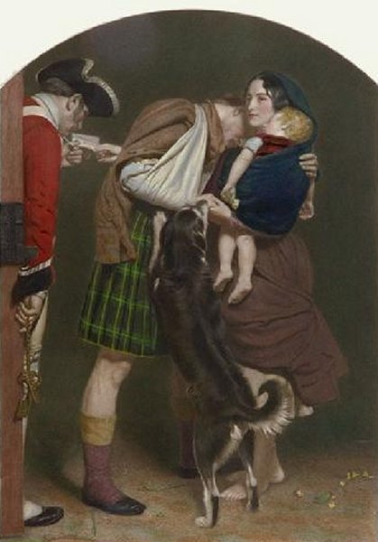The Order Of Release 1852-53 | Sir John Everett Millais | Oil Painting