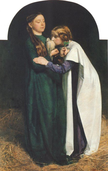 The Return Of The Dove To The Ark 1815 | Sir John Everett Millais | Oil Painting