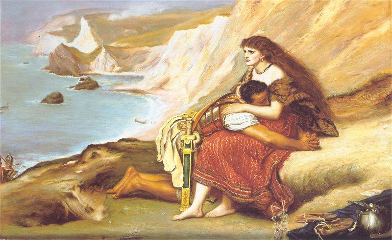 The Romans Leaving Britain 1865 | Sir John Everett Millais | Oil Painting