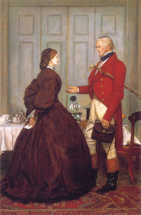 Trust Me 1862 | Sir John Everett Millais | Oil Painting
