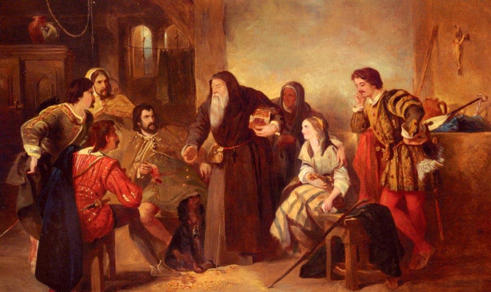 The Beggar Of Bethnal Green | Sir John Gilbert | Oil Painting