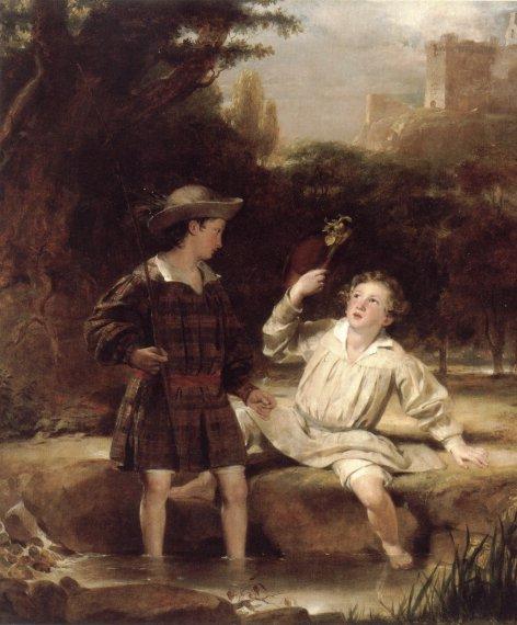 Auld Lang Syne | Sir John Watson Gordon | Oil Painting