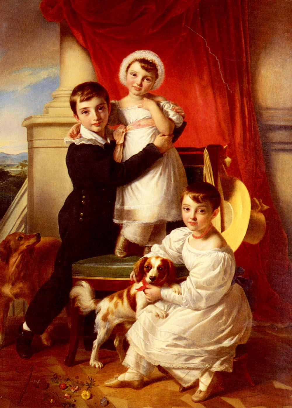 The Stanley Children | Sir John Watson Gordon | Oil Painting