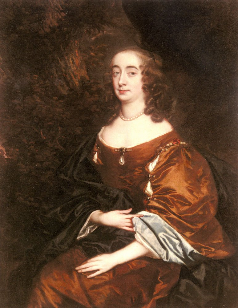 Portrait Of Elizabeth Countess Of Cork | Sir Peter Lely | Oil Painting