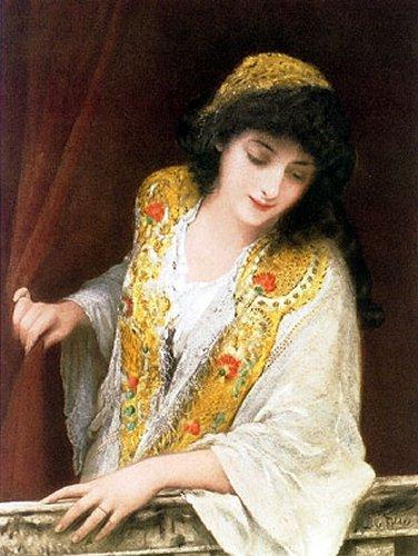 Jessica 1888 | Sir Samuel Luke Fildes | Oil Painting