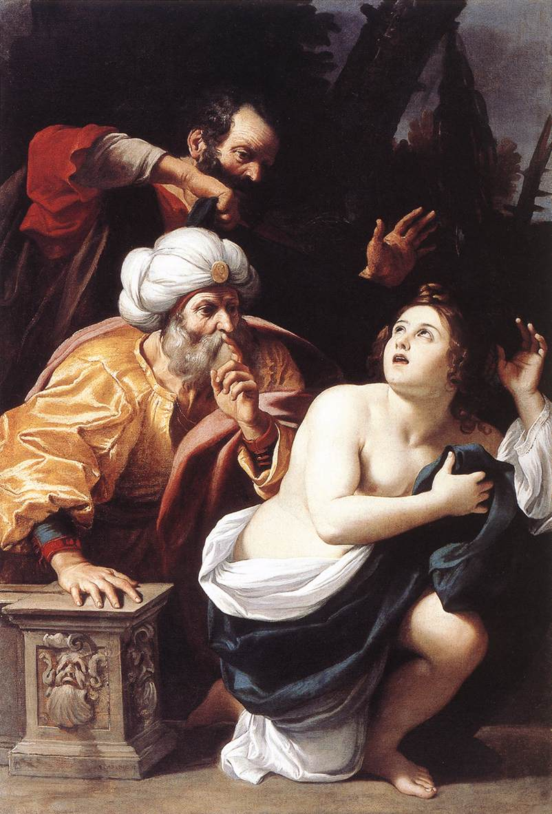 Susanna And The Elders 1609 | Sisto Badalocchio | Oil Painting