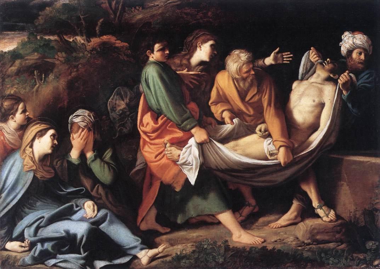 The Entombment Of Christ 1610 | Sisto Badalocchio | Oil Painting