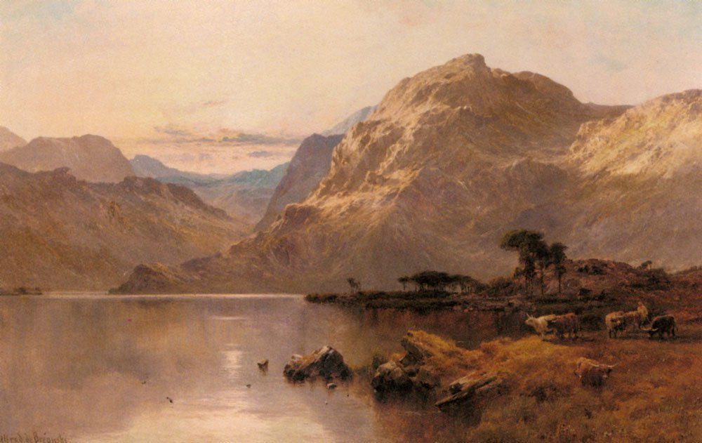 Crafnant North Wales | Alfred De Breanski Snr | Oil Painting