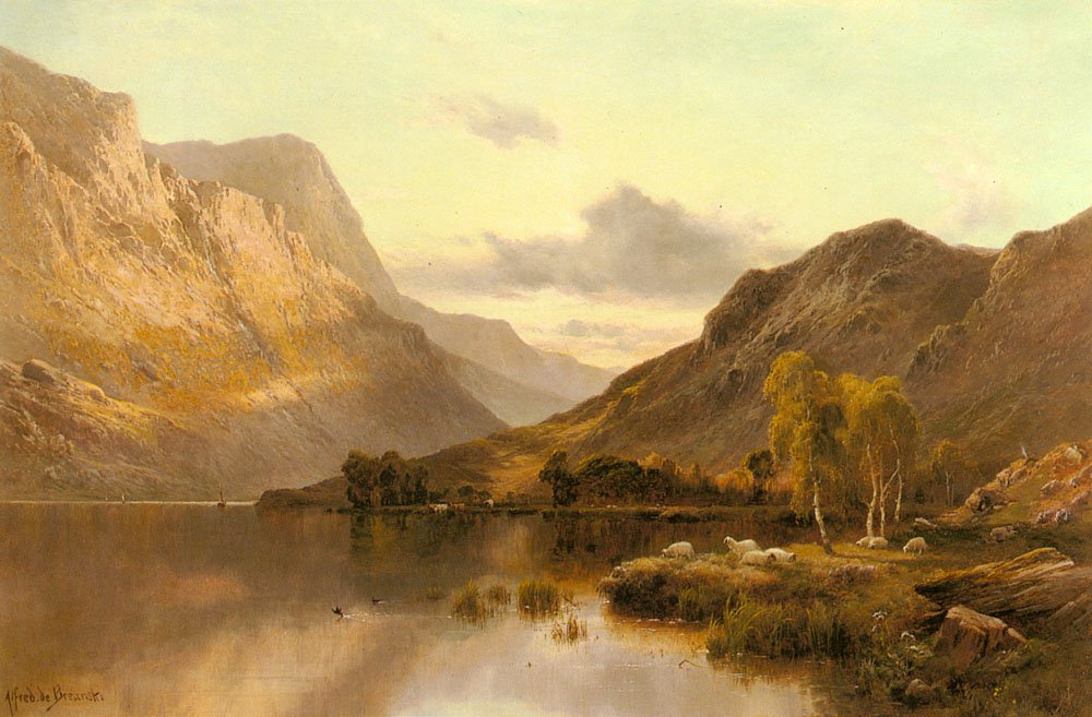 Near Dunkeld | Alfred De Breanski Snr | Oil Painting