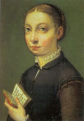 Self-Portrait 1554 | Sofonisba Anguissola | Oil Painting