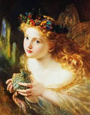 Take The Fair Face Of Woman | Sophie Anderson | Oil Painting