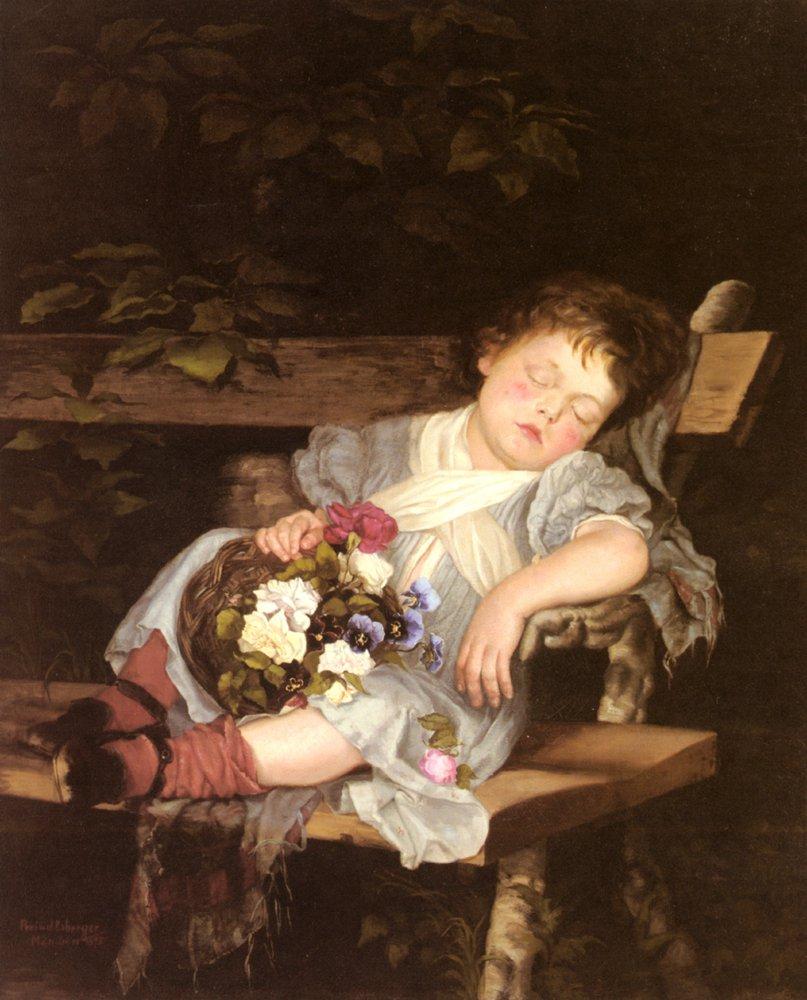 Sweet Dreams | Stokes Marianne Preindlsberger | Oil Painting