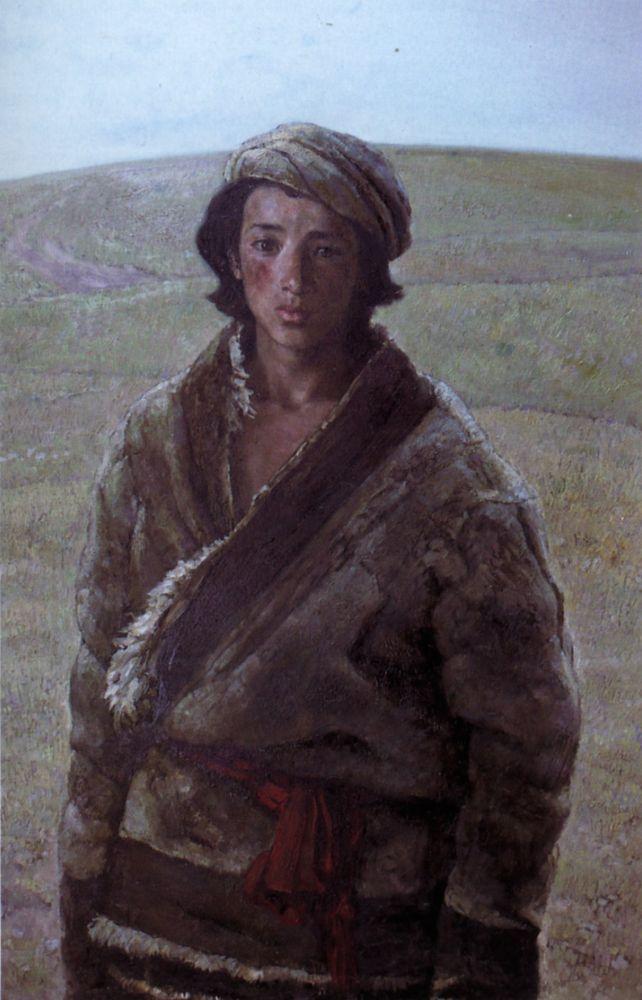 Tibetan | Sun Jingbo | Oil Painting