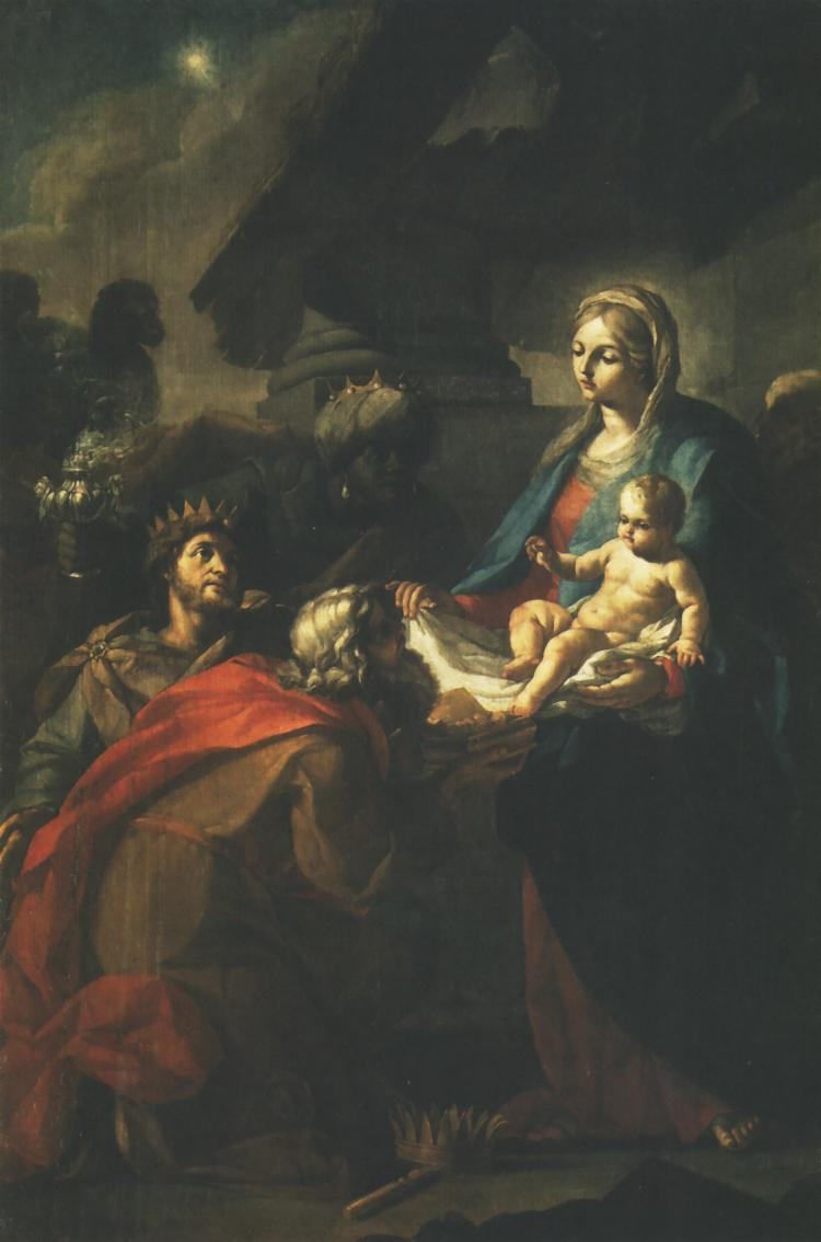 Adoration Of The Magi | Szymon Czechowicz | Oil Painting