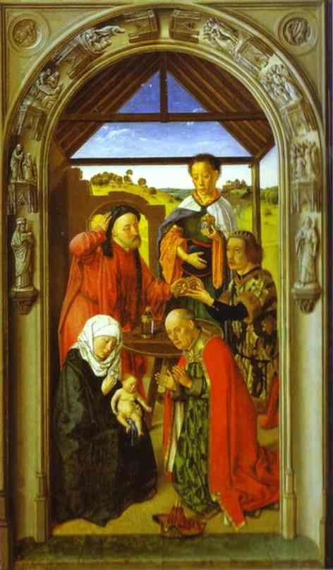 The Adoration Of The Magi 1445 | Dieric Bouts The Elder | Oil Painting