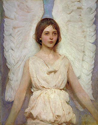 Angel 1887 | Abbott Handerson Thayer | Oil Painting