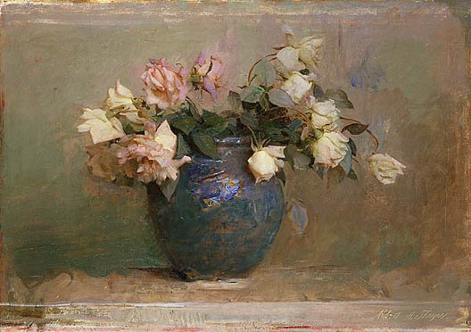 Roses 1890 | Abbott Handerson Thayer | Oil Painting