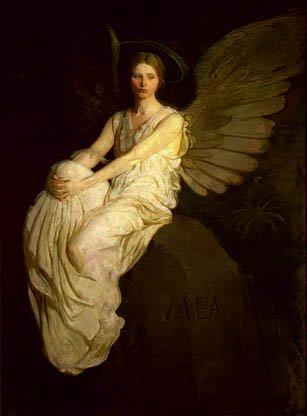 The Stevenson Memorial 1903 | Abbott Handerson Thayer | Oil Painting