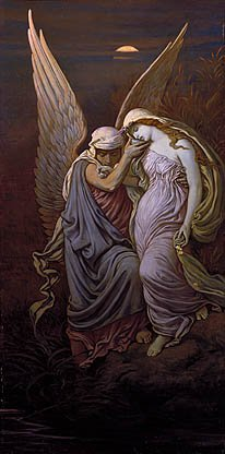 The Cup Of Death 1885 And 1911 | Elihu Vedder | Oil Painting