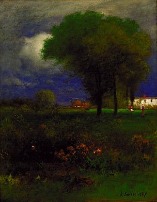 September Afternoon 1887 | George Inness | Oil Painting