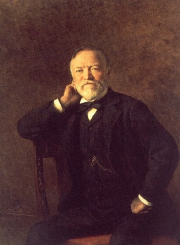 Portrait of Andrew Carnegie | Theobald Chartran | Oil Painting