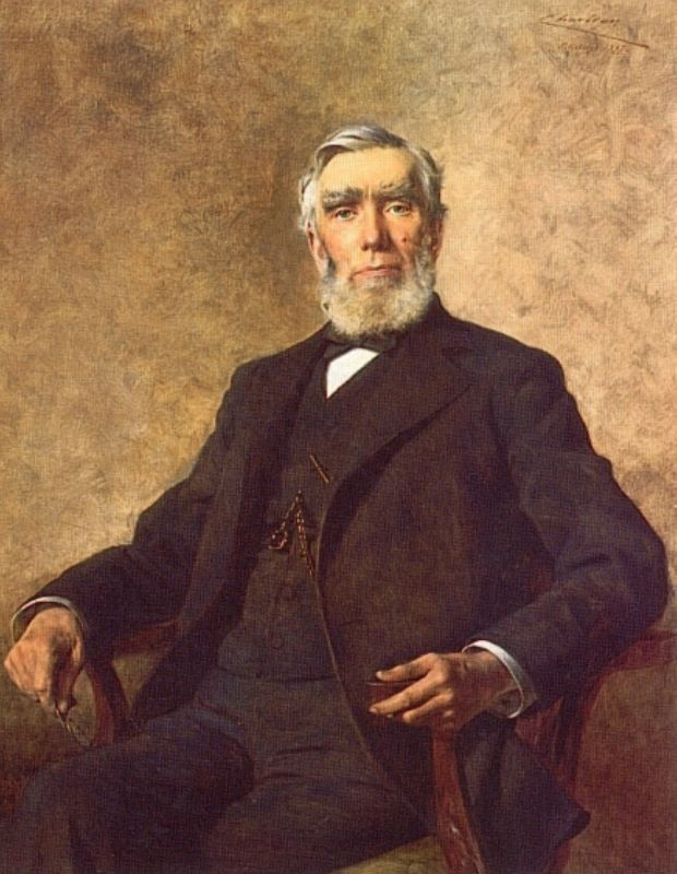 Portrait of Charles Lockhart   Theobald Chartran   Oil Painting