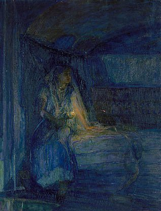 Mary About 1914 | Henry Ossawa Tanner | Oil Painting