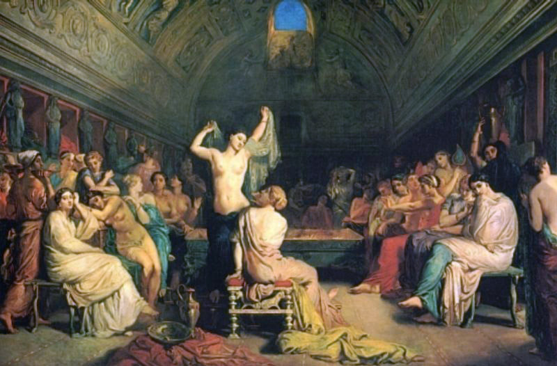 The Tepidarium | Theodore Chasseriau | Oil Painting