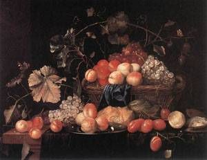 Fruit 1653 | Theodoor Aenvanck | Oil Painting