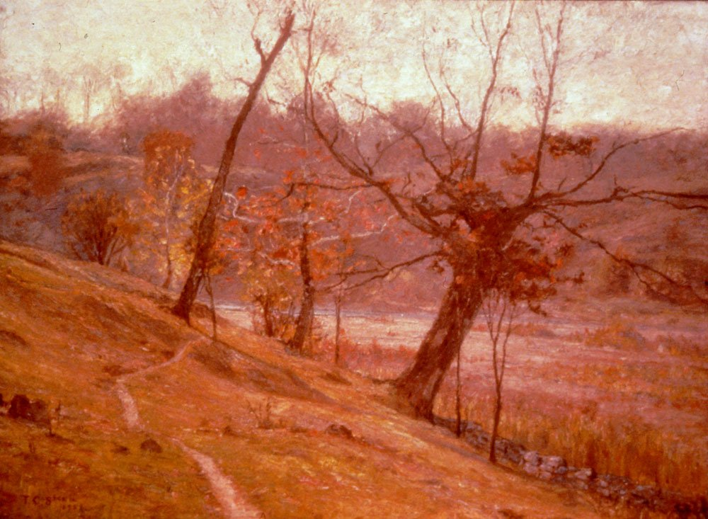 The Bloom Of Grape 1893   Theodore C Steele   Oil Painting