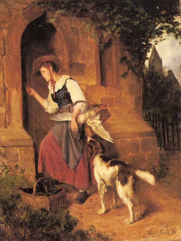 The Days Delivery | Theodore Gerard | Oil Painting