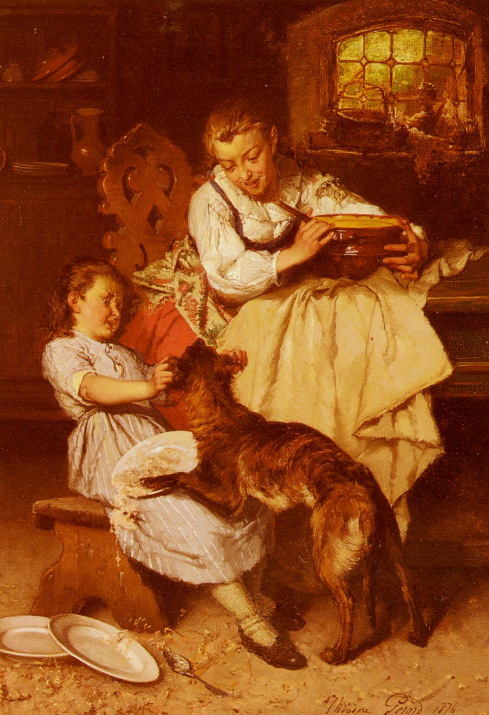 The Unwanted Guest | Theodore Gerard | Oil Painting