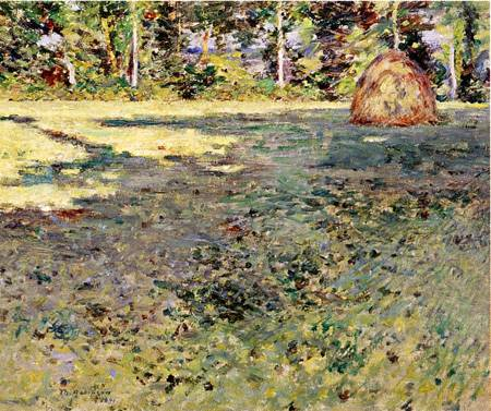 Afternoon Shadows 1891 | Theodore Robinson | Oil Painting