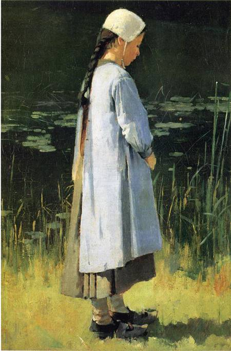 Angelus | Theodore Robinson | Oil Painting