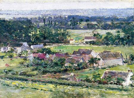 Giverny 1889 | Theodore Robinson | Oil Painting