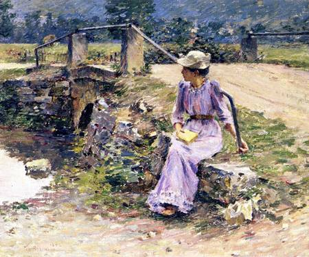 La Debacle 1892 | Theodore Robinson | Oil Painting