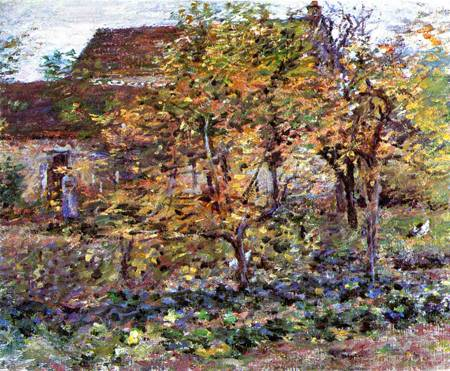 Yellow Apples 1892 | Theodore Robinson | Oil Painting