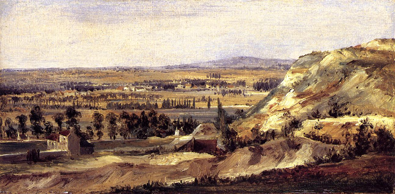 Panoramic Landscape 1831-1833 | Theodore Rousseau | Oil Painting