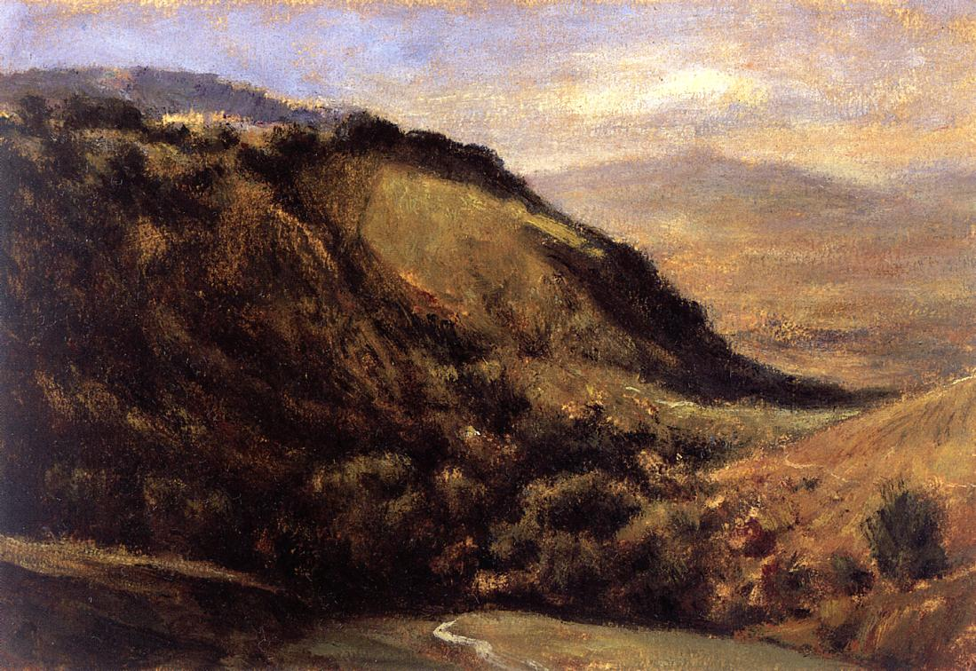 Valley in the Auvergne 1830 | Theodore Rousseau | Oil Painting