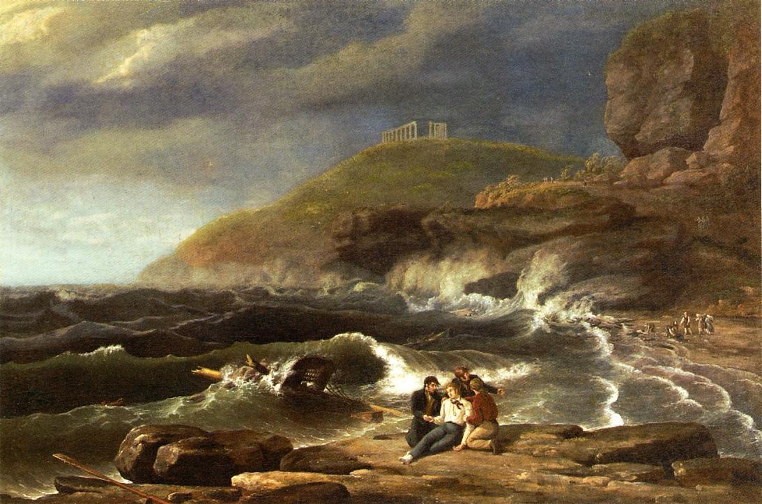 Falconer's Shipwreck 1828 | Thomas Birch | Oil Painting