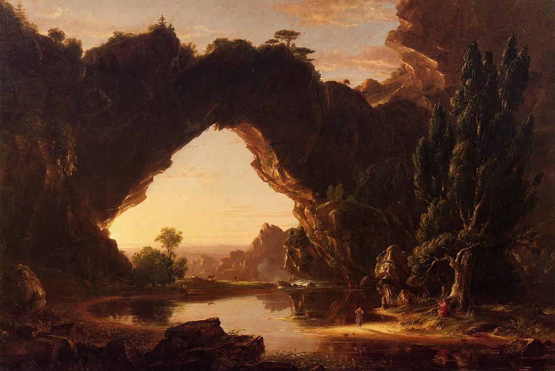 An Evening in Arcadia 1843 | Thomas Cole | Oil Painting