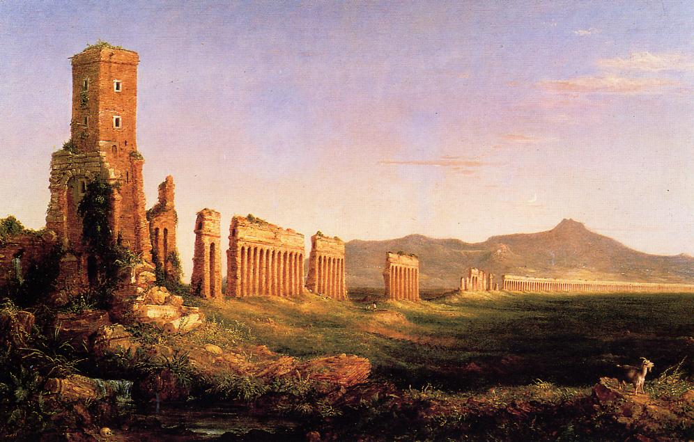 Aqueduct near Rome 1832 | Thomas Cole | Oil Painting
