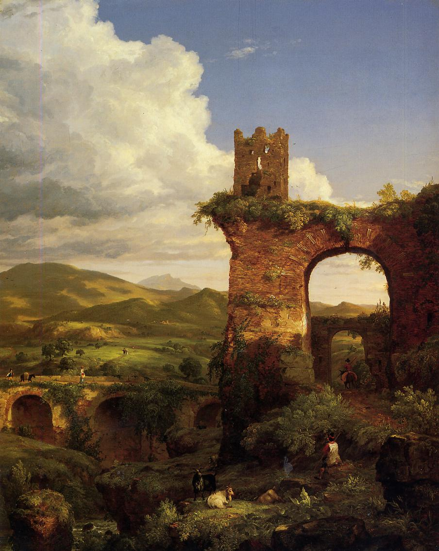 Arch of Nero 1846 | Thomas Cole | Oil Painting