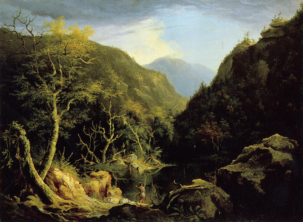 Autumn in the Catskills 1827 | Thomas Cole | Oil Painting